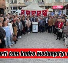 İYİ Partililer Mudanya'yı eş zamanlı dinledi