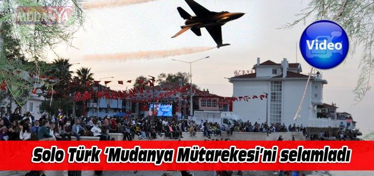 Solo Türk, Bursa Mudanya'da nefes kesti