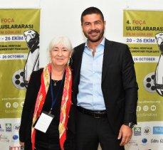 İzmir Foça'da film keyfi