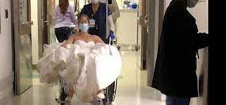 Düğünde büyük talihsizlik! İlk dans hastanede bitti