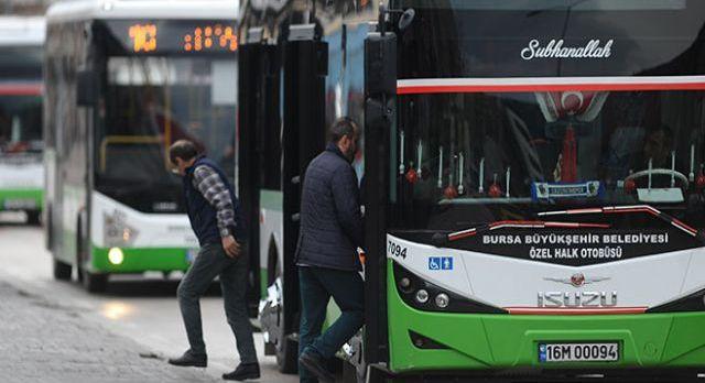 Bursa'da ulaşımda vize muafiyeti 31 Mart'a uzatıldı