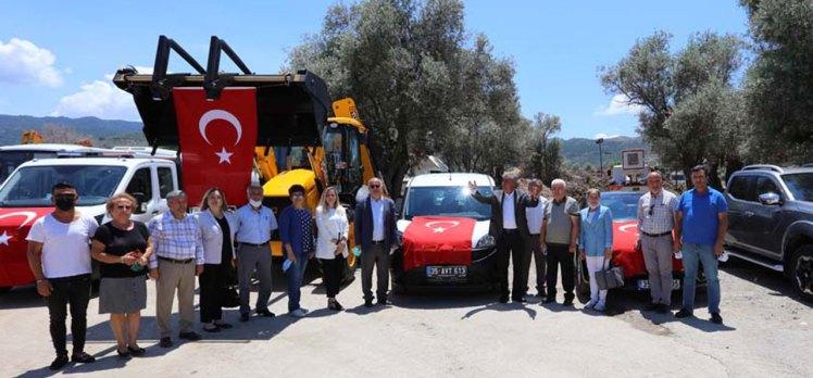 İzmir Güzelbahçe araç filosunu güçlendiriyor