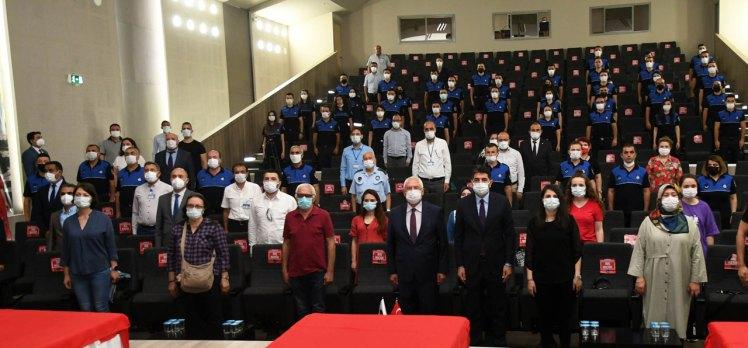 İzmir Karabağlar'da 39 zabıta memuru yemin etti