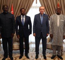Batı Afrika'da dörtlü buluşmadan 'ortak' bildiri