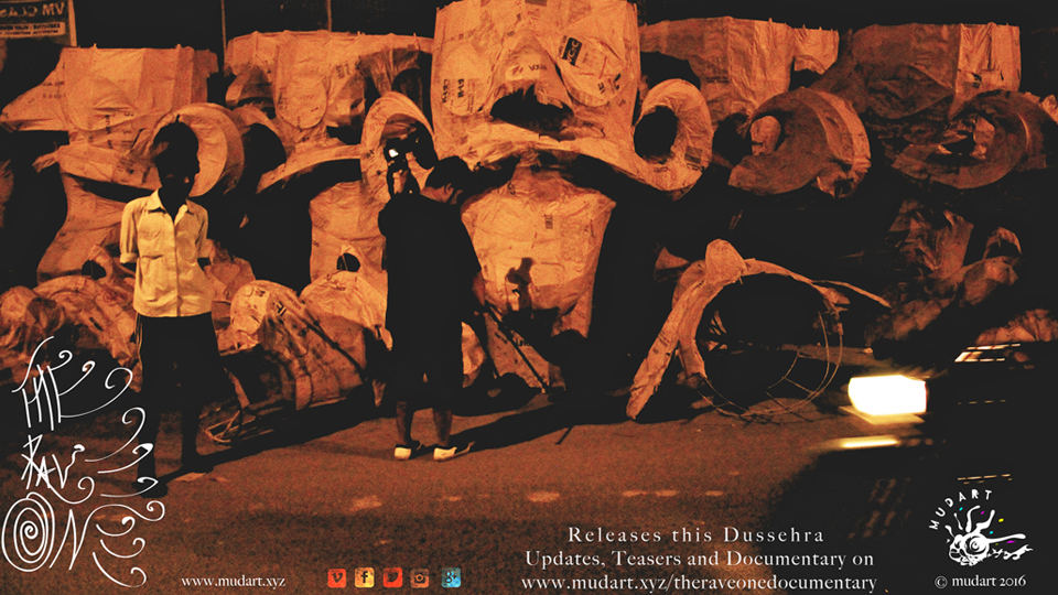 The Rave One, Ravan, Dussehra, documentary, art, culture, cause, project, mudart