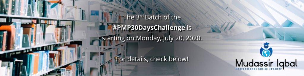 #PMP30DaysChallenge
