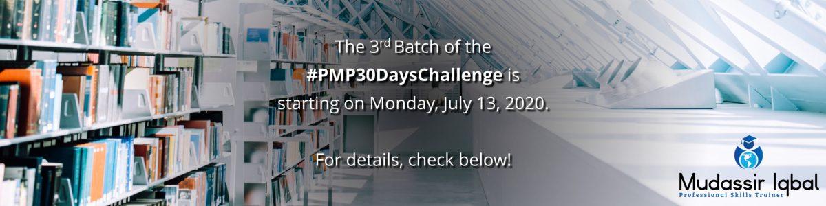 #PMP30DaysChalleng
