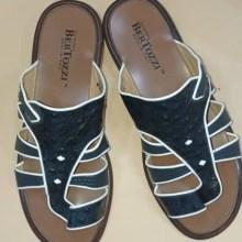 Bertozzi Men Shoes – Black 45″