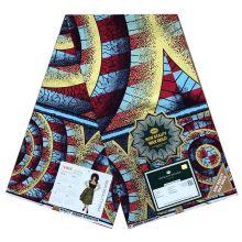 New Holland Gold Atampa Fabrics Ankara - 6yards -100% Cotton