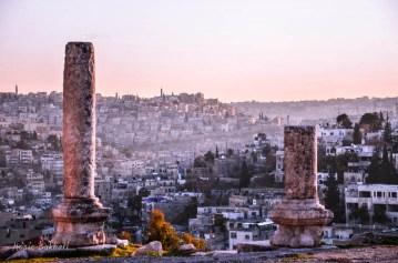 جبل عمان من جبل الوبيدة