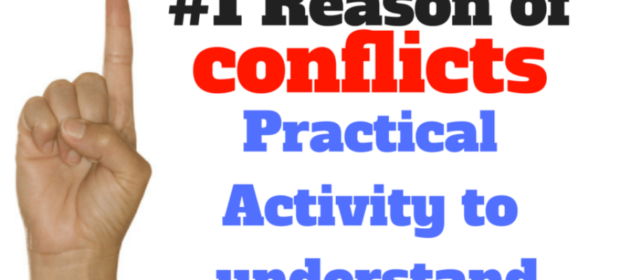 #1 Reason of conflicts