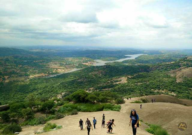 Savandurga-Trek-Image-Muddie-Trails-Best-Trek-Around-Bangalore