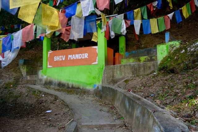 Shiv Mandir, Hot Water Springs, DirangDirang Tawang Road Trip Muddie Trails