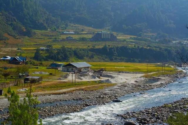 View from Hot Water Springs, Dirang Tawang Road Trip Muddie Trails