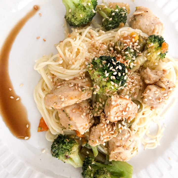Asian Chicken Primavera