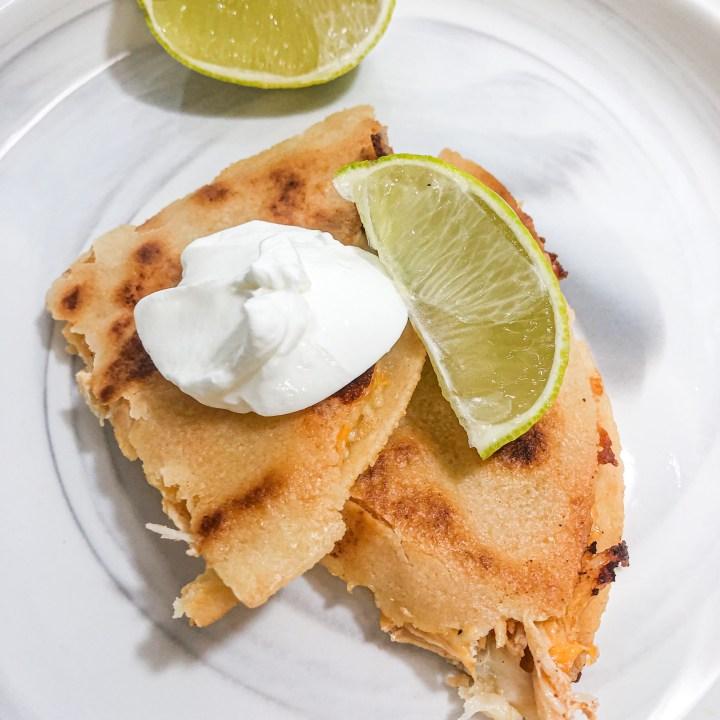 Gluten Free Copycat Taco Bell Chicken Quesadillas