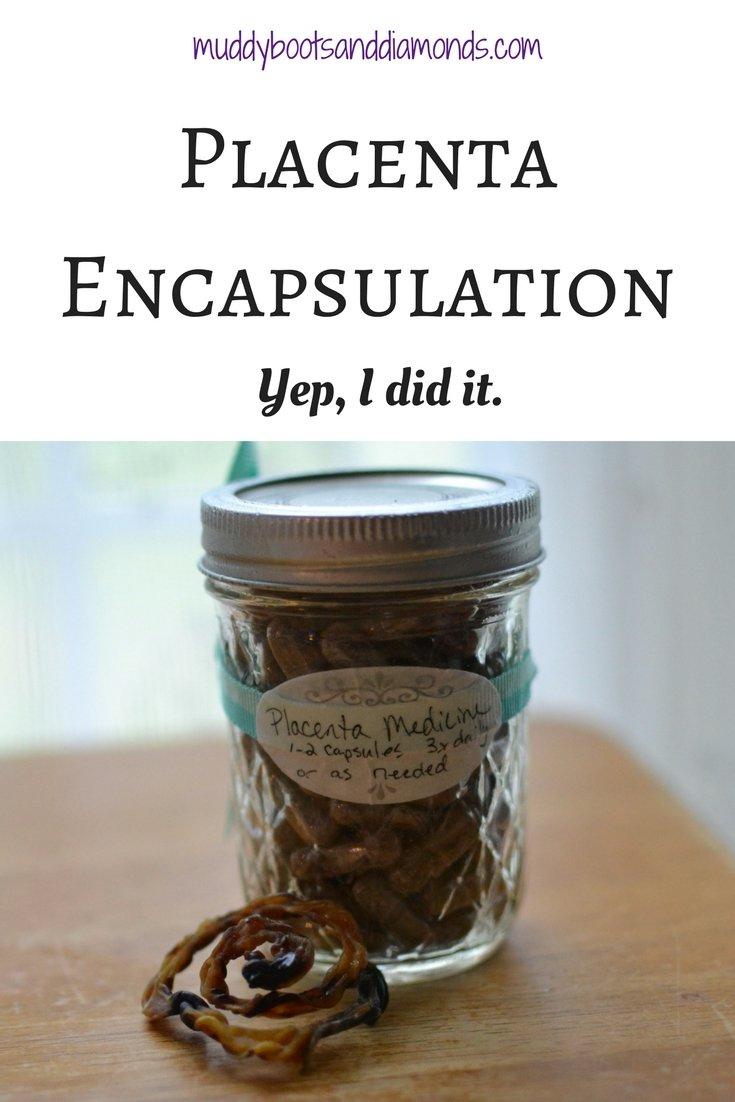 Placenta Encapsulation: Yep, I did it! via muddybootsanddiamonds.com