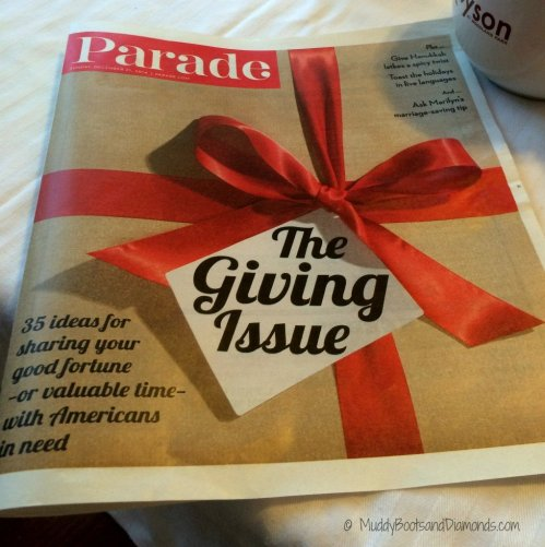 4 Kid friendly charities Parade Magazine Charities via muddybootsanddiamonds.com