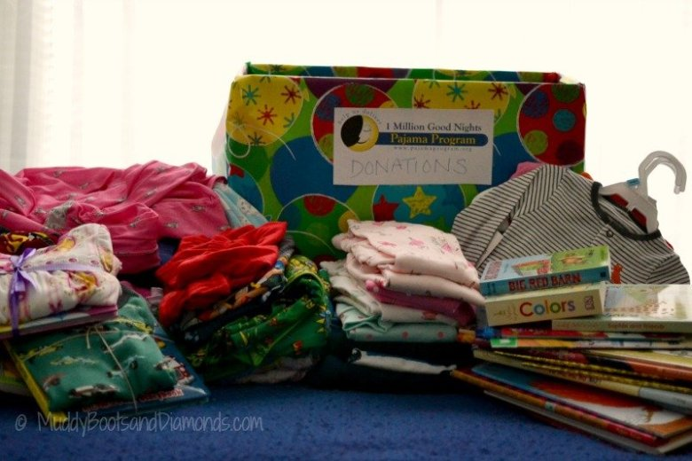 Giving to kids in need with the PaJama Project via muddybootsanddiamonds.com