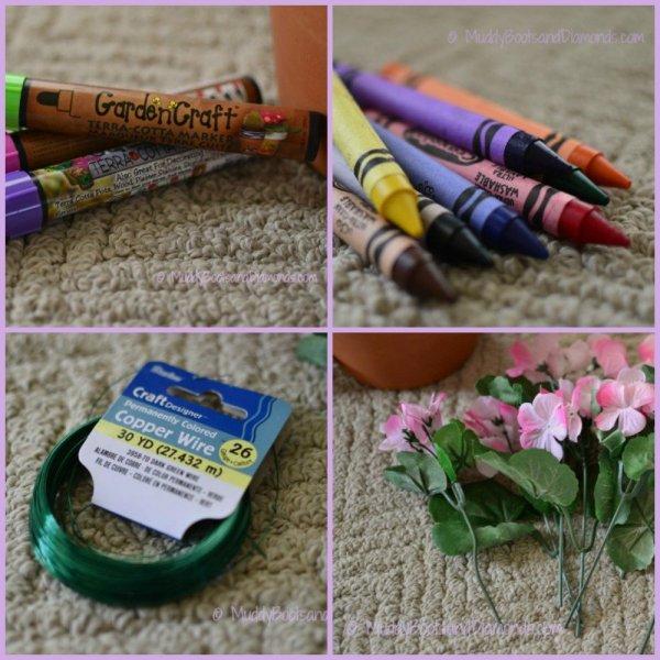 Flower Pot Craft Supplies
