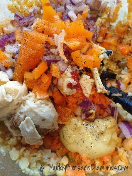 Chickpea of the Sea Salad via muddybootsandiamonds.com
