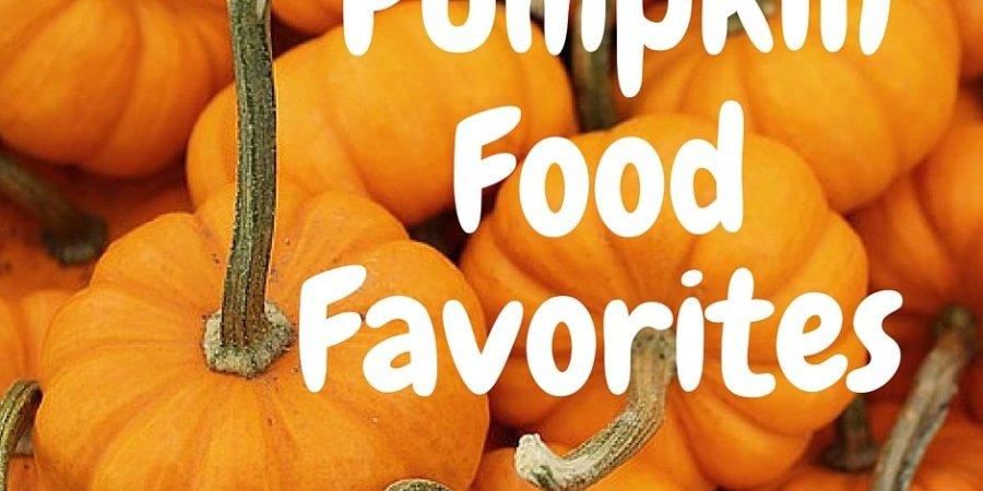 Pumpkin Food Favorites via MuddyBootsandDiamonds.com