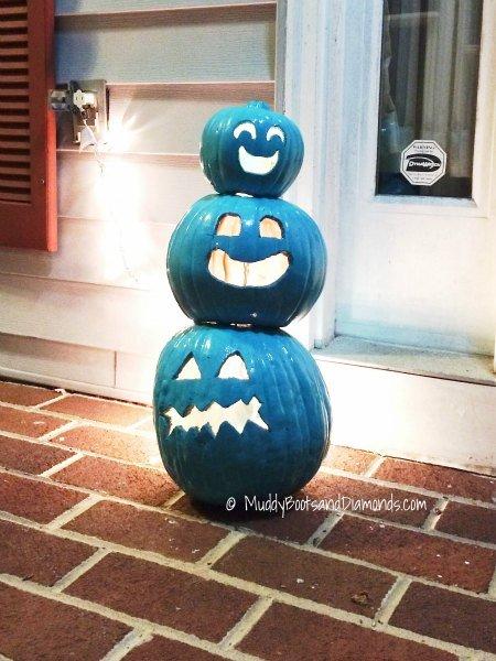 Teal Pumpkins via www.muddybootsanddiamonds.com