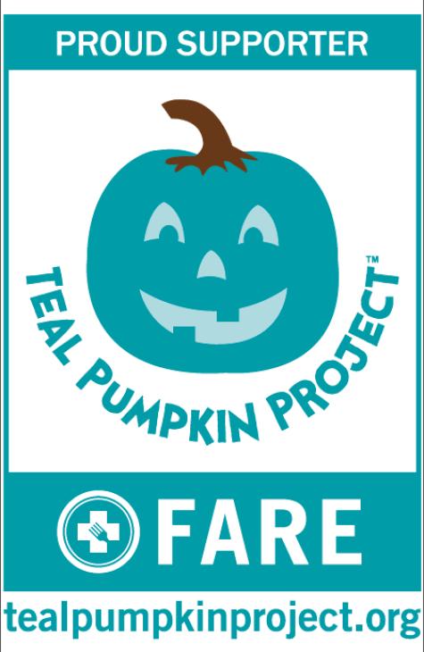 Teal Pumpkin Project Supporter