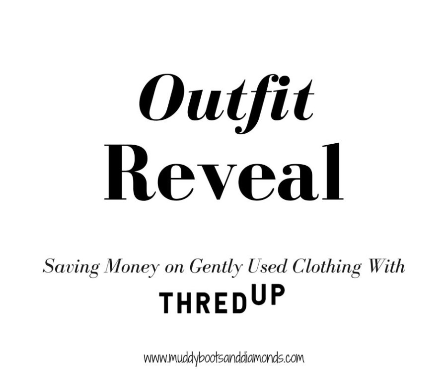 thredUp Holiday Party Outfit Reveal via muddybootsanddiamonds.com
