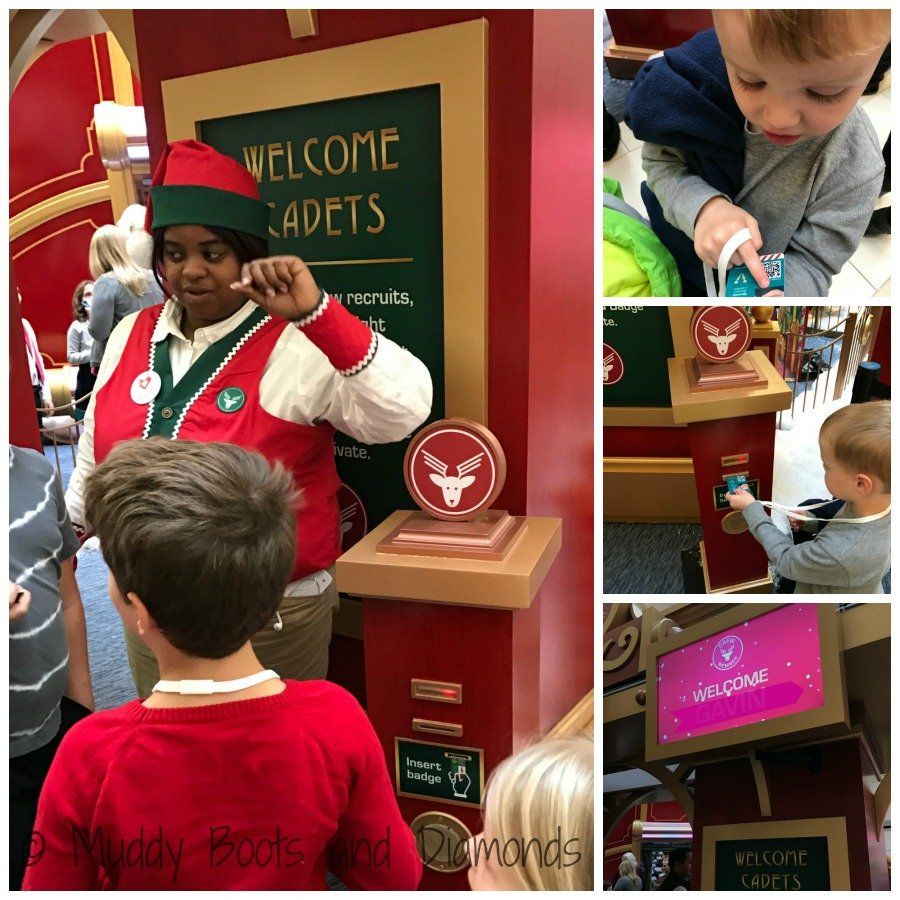 Santa's Flight Academy at Fair Oaks Mall via muddybootsanddiamonds.com