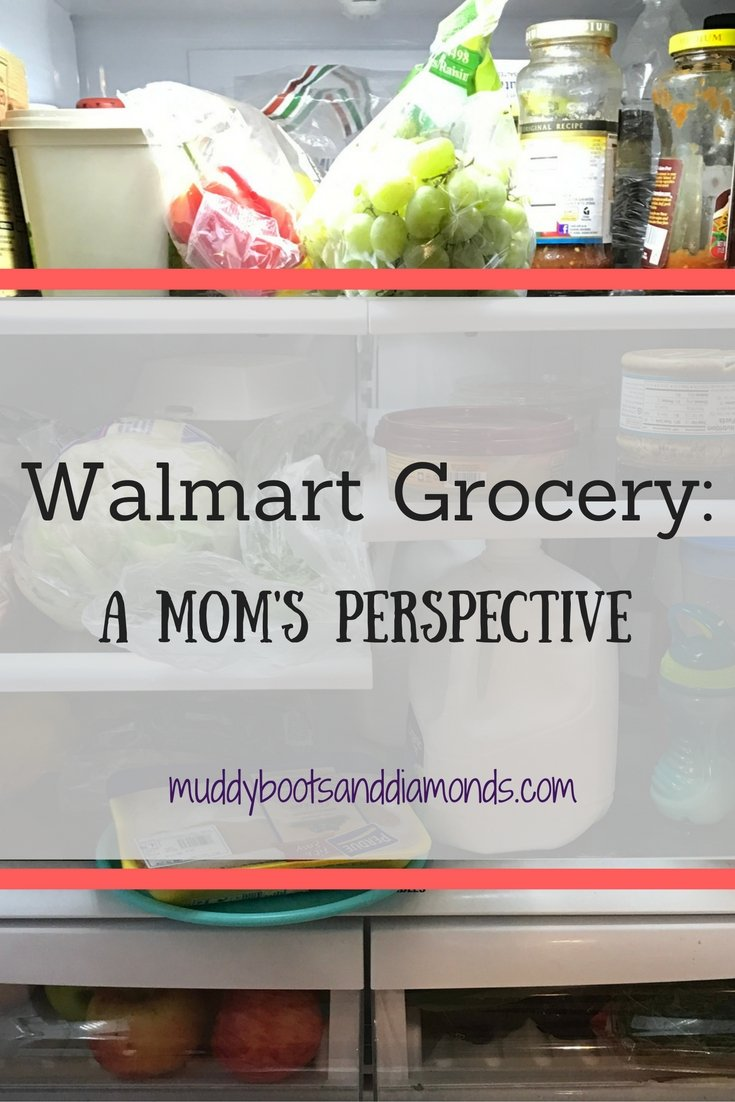 Walmart Grocery: A Mom's Perspective via muddybootsanddiamonds.com
