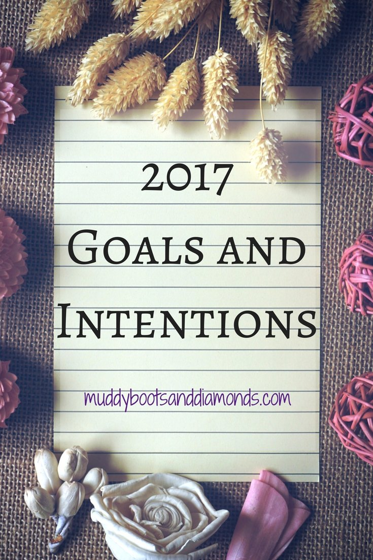 Goals and Intentions via muddybootsanddiamonds.com