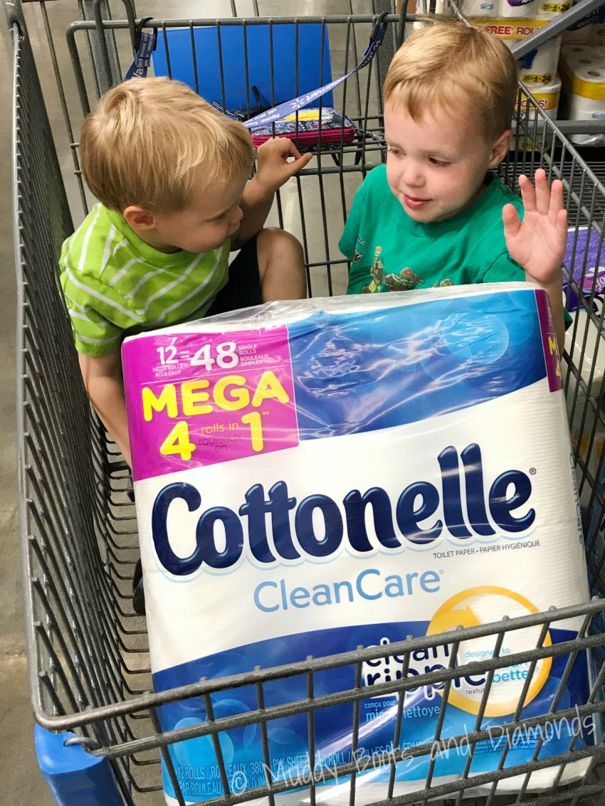 Cottonelle Mega Rolls at Walmart via Muddy Boots and Diamonds