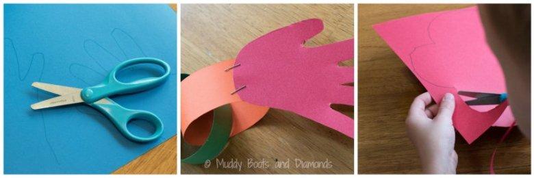Hug Monster Father's Day Card craft via muddybootsanddiamonds.com