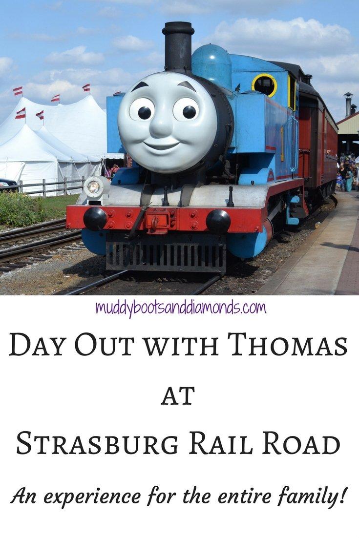 Day Out with Thomas at Strasburg Rail Road Pennsylvania via muddybootsanddiamonds.com
