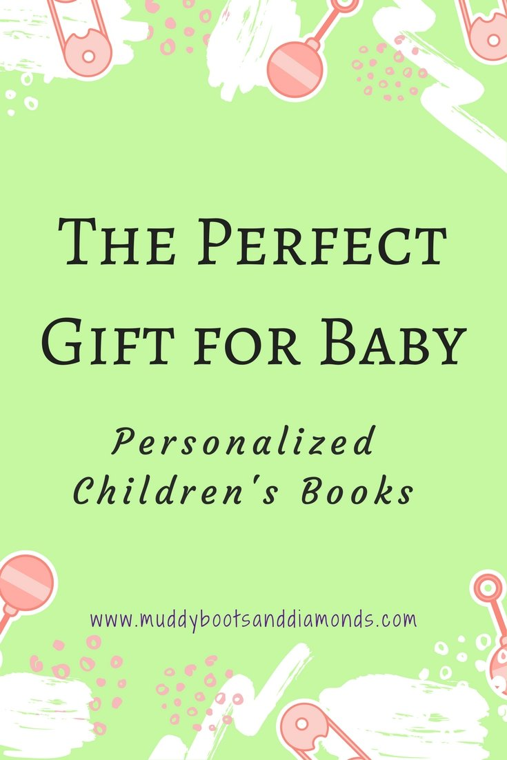 The perfect gift for baby. Where to find personalized children's books. Great for Baby Showers, Birthdays, Milestones, Christmas, Hanukkah, Holidays. via muddybootsanddiamonds.com