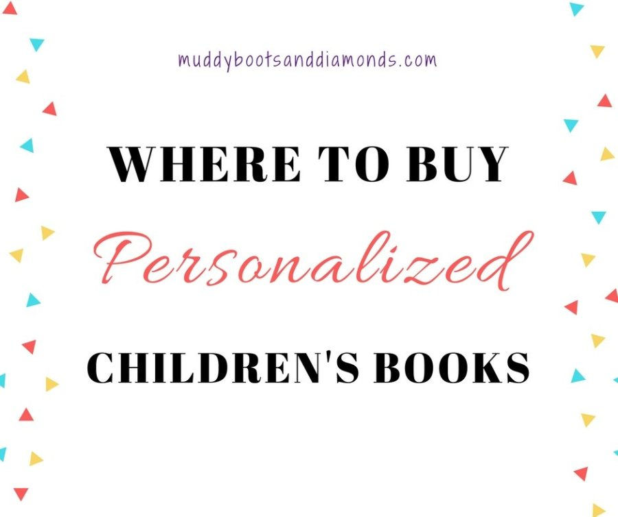 Where to buy personalized children's books for baby showers, birthdays, holidays, and special occasions via muddybootsanddiamonds.com
