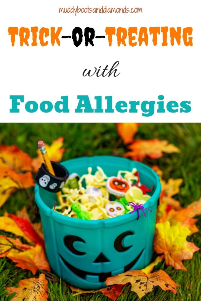Trick-or-Treating with Food Allergies via muddybootsanddiamonds.com | How to Enjoy Halloween with Food Allergies
