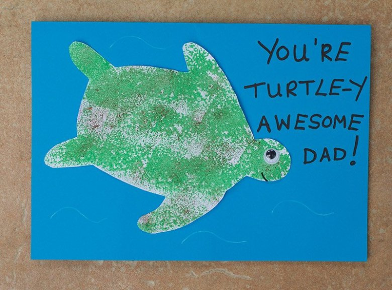 Easy-Turtle-Fathers-Day-Card-Finished-Card-1