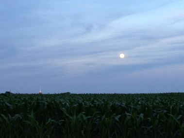 Super moon over Fawn Grove, PA