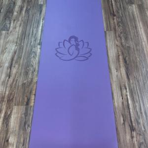 Flowgasm XL Purple Extra Long PU Yoga Mat 7 ft long