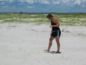 muddymermaid on the beach
