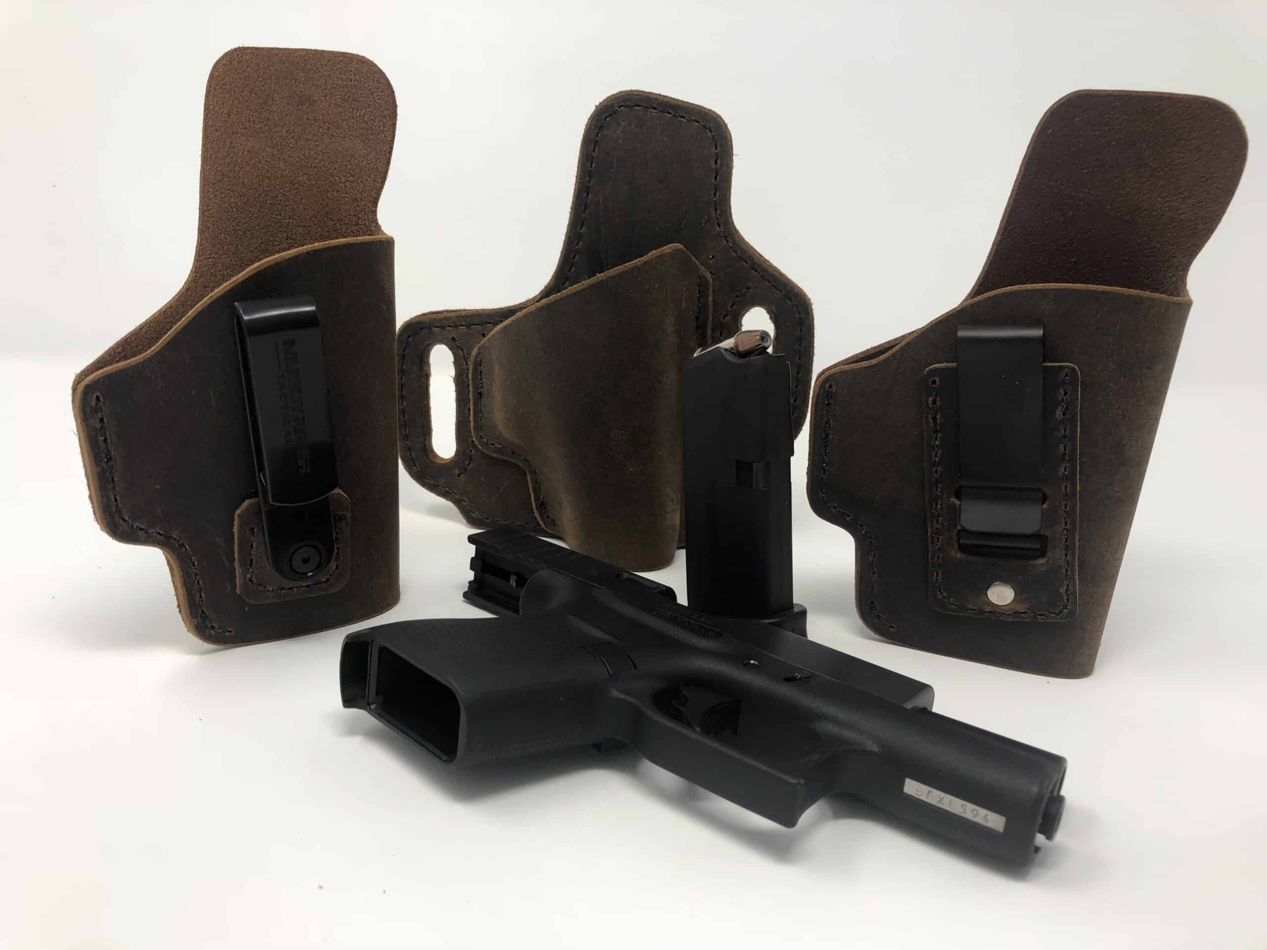 leather concealed carry holster