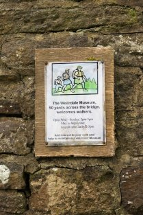 The Weardale Museum is well worth a visit, and just a short detour from the route