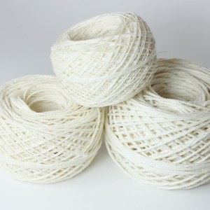 White Hemp Yarn | MudHollow.com
