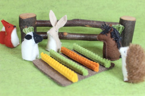Little Felt Animals Earth Day Giveaway | MudHollow.com