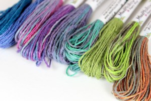 Hand-dyed Hemp   MudHollow.com