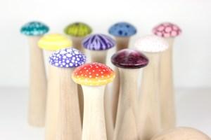 Mushroom Bowling Set | Mudhollow.com