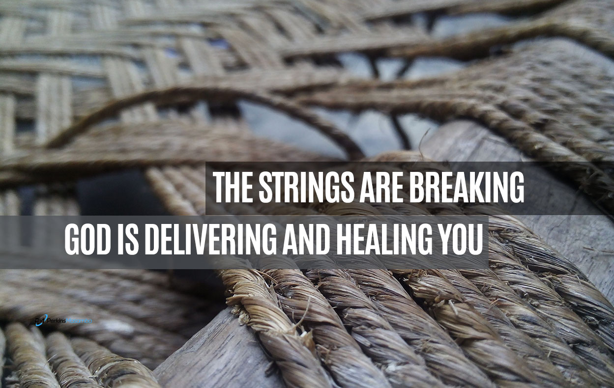 strings are breaking