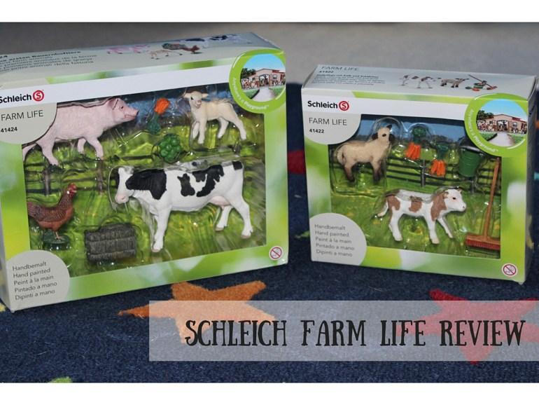 Schleich Farm Life Review